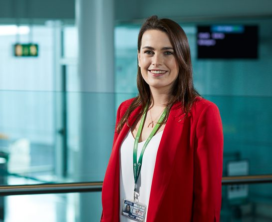 Amy Pyne, Graduate Project Officer, Commercial, Dublin Airport