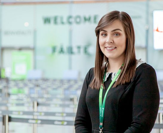 Mairead Faulkner, Ground Handling & Cargo Co-Ordinator, Dublin Airport