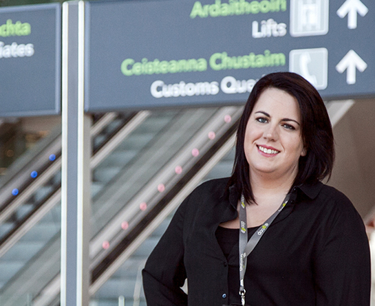 Sinead Gallagher, Service Delivery Manager